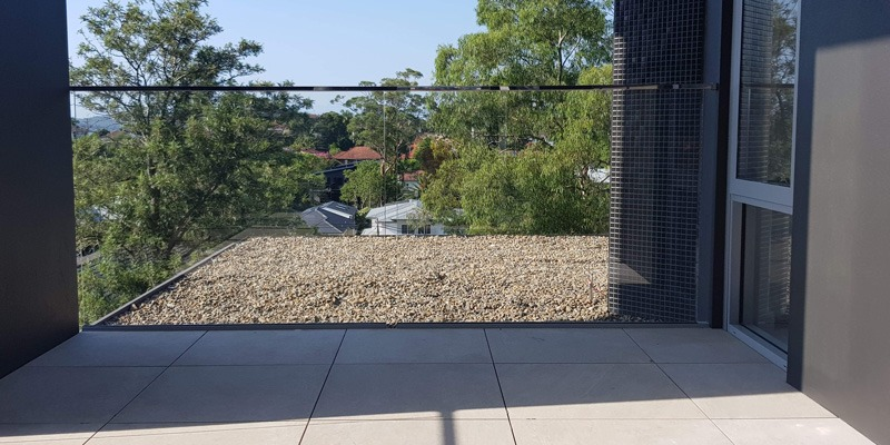 Channel Fixed Glass Pool Fence